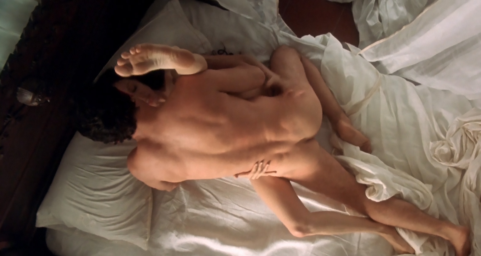 angelina jolie having sex in bed naked