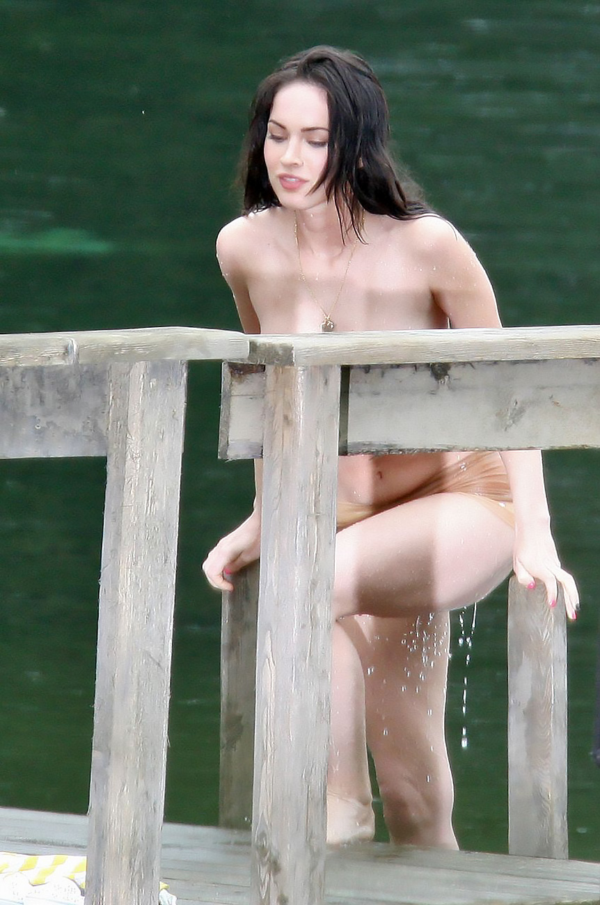 Megan fox completely nude seems