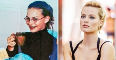 Margot Robbie young and today
