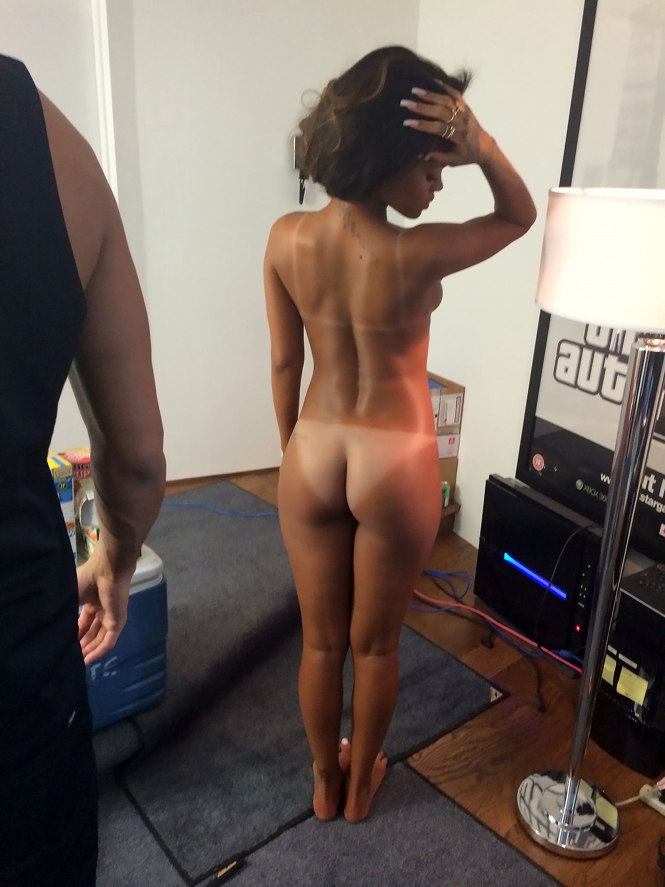 Are Rihan hot sex naked