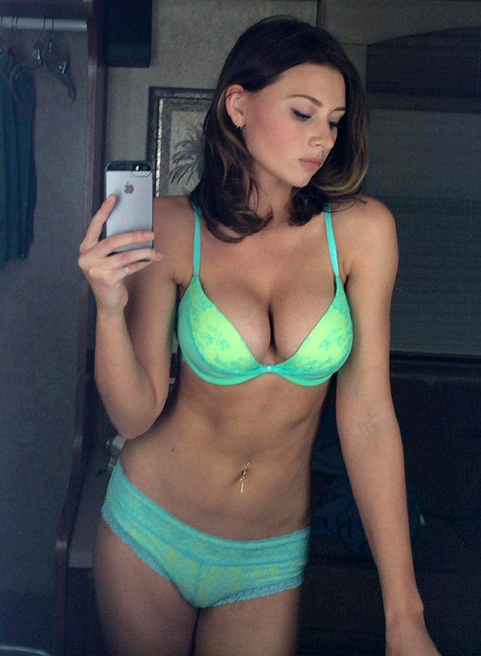 Aly Michalka lingerie