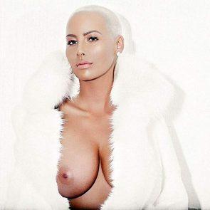 Amber Rose nude nipples