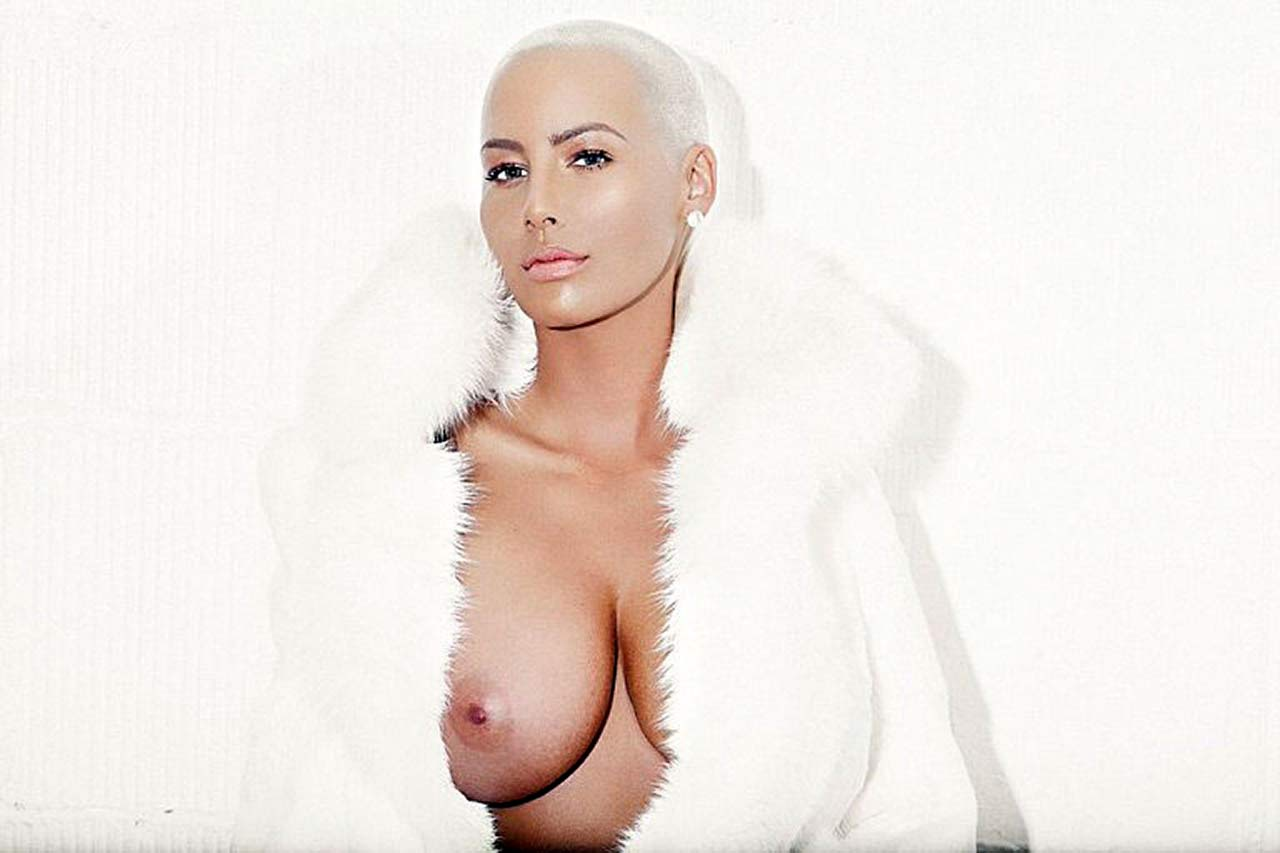 Amber Rose Nude Sexy Pics Ultimate Compilation