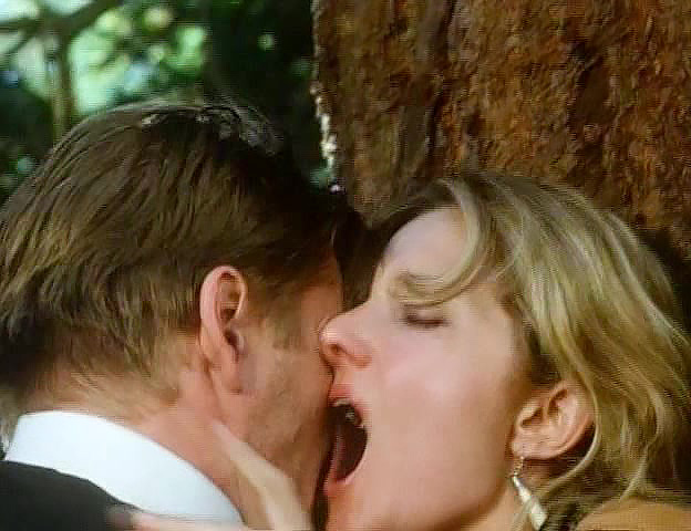 joely richardson vigorous sex in the woods from lady