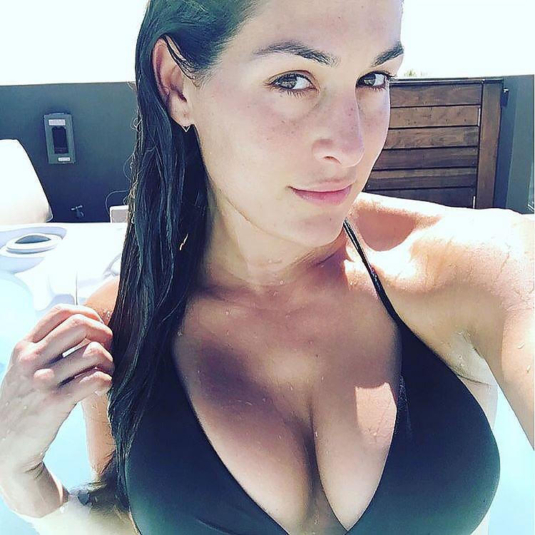Nikki Bella Naked Photos With Hard Nipples - Scandalpost-4247