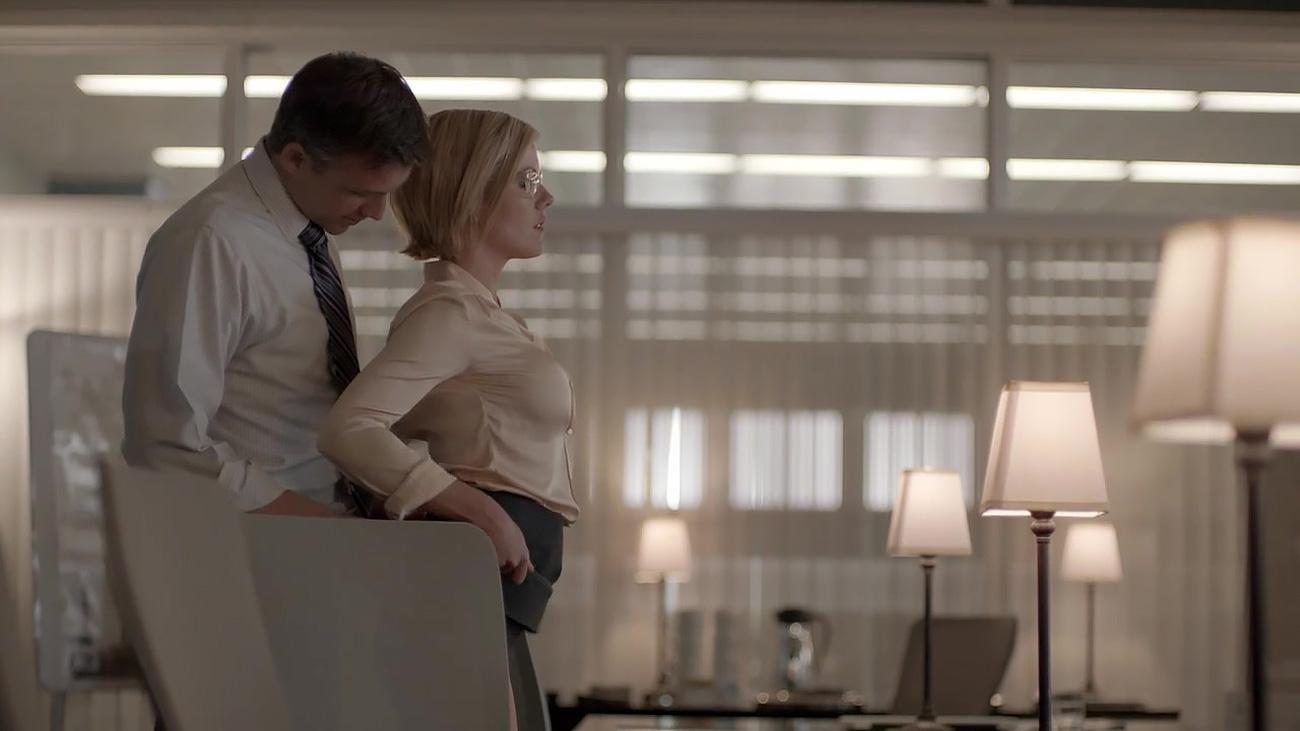 Kathleen Robertson Juicy Sex From Boss - Scandalpost-4131