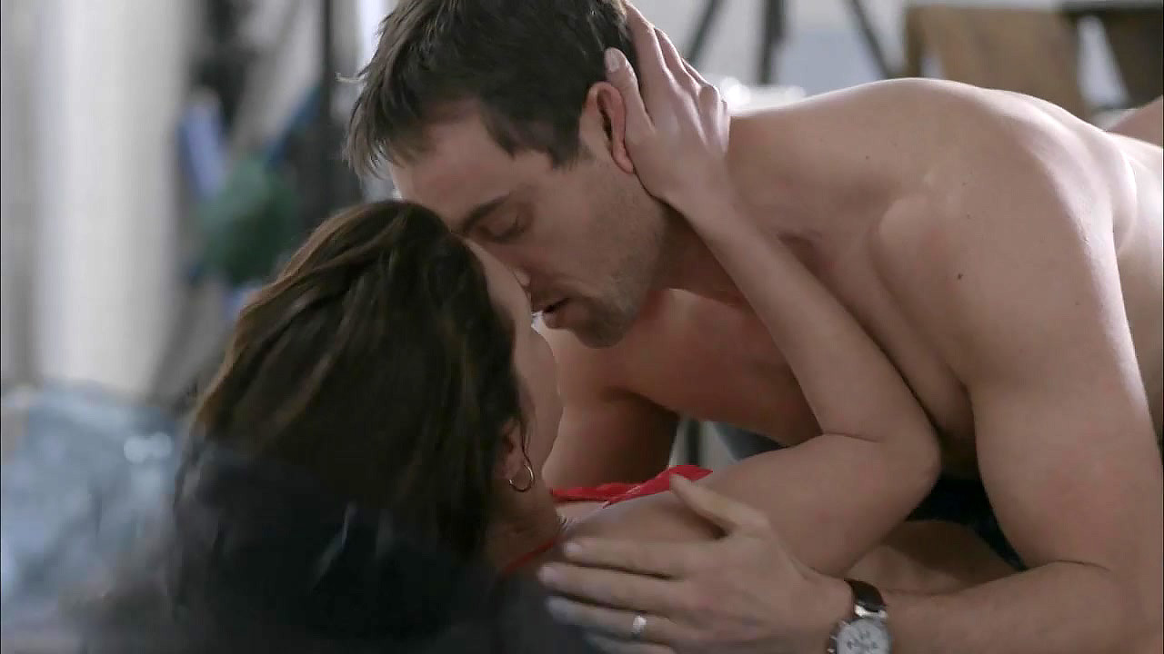 Hannah ware rides a guy in boss series