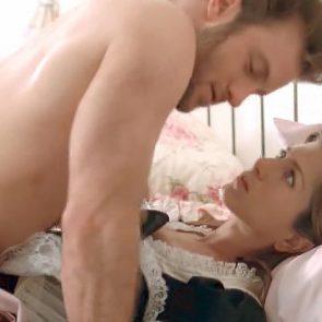 Jennifer Aniston unwilling sex inbed in maid costume