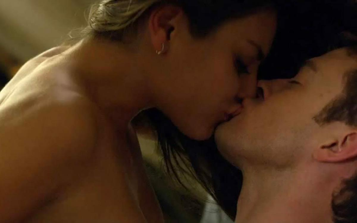 Husband licking wife orgasm