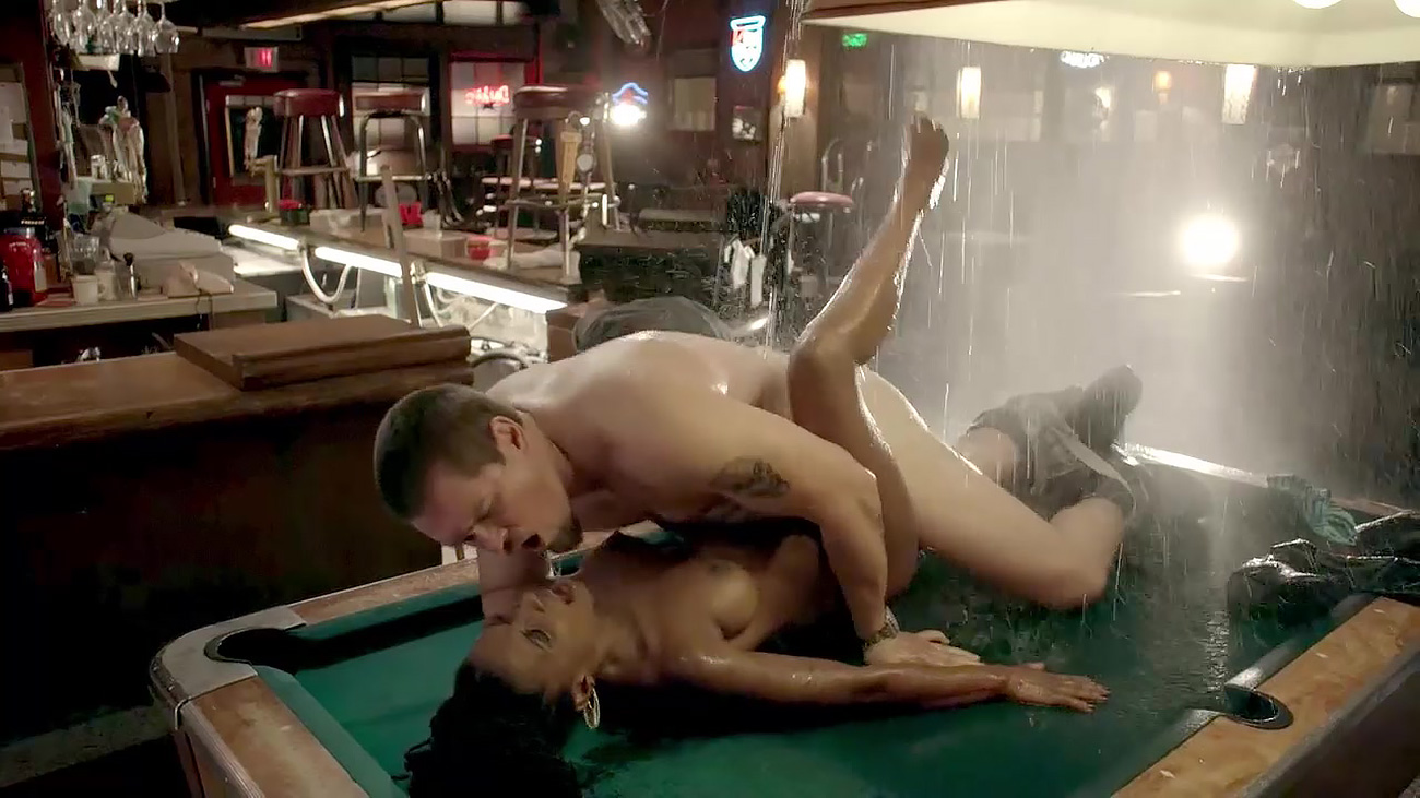Shanola hampton sex on a pool table in shameless series nudes (99 pictures)