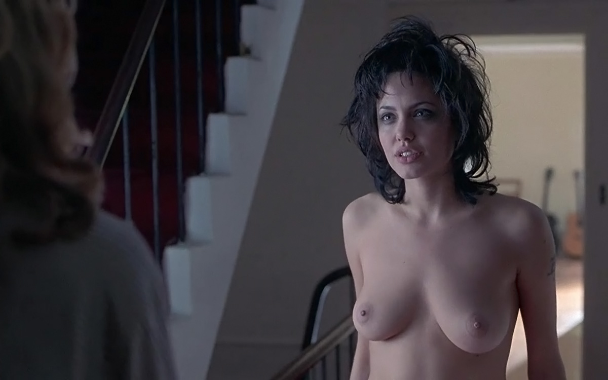 Angelina Jolie Naked Pics angelina jolie topless scene in gia - scandalpost