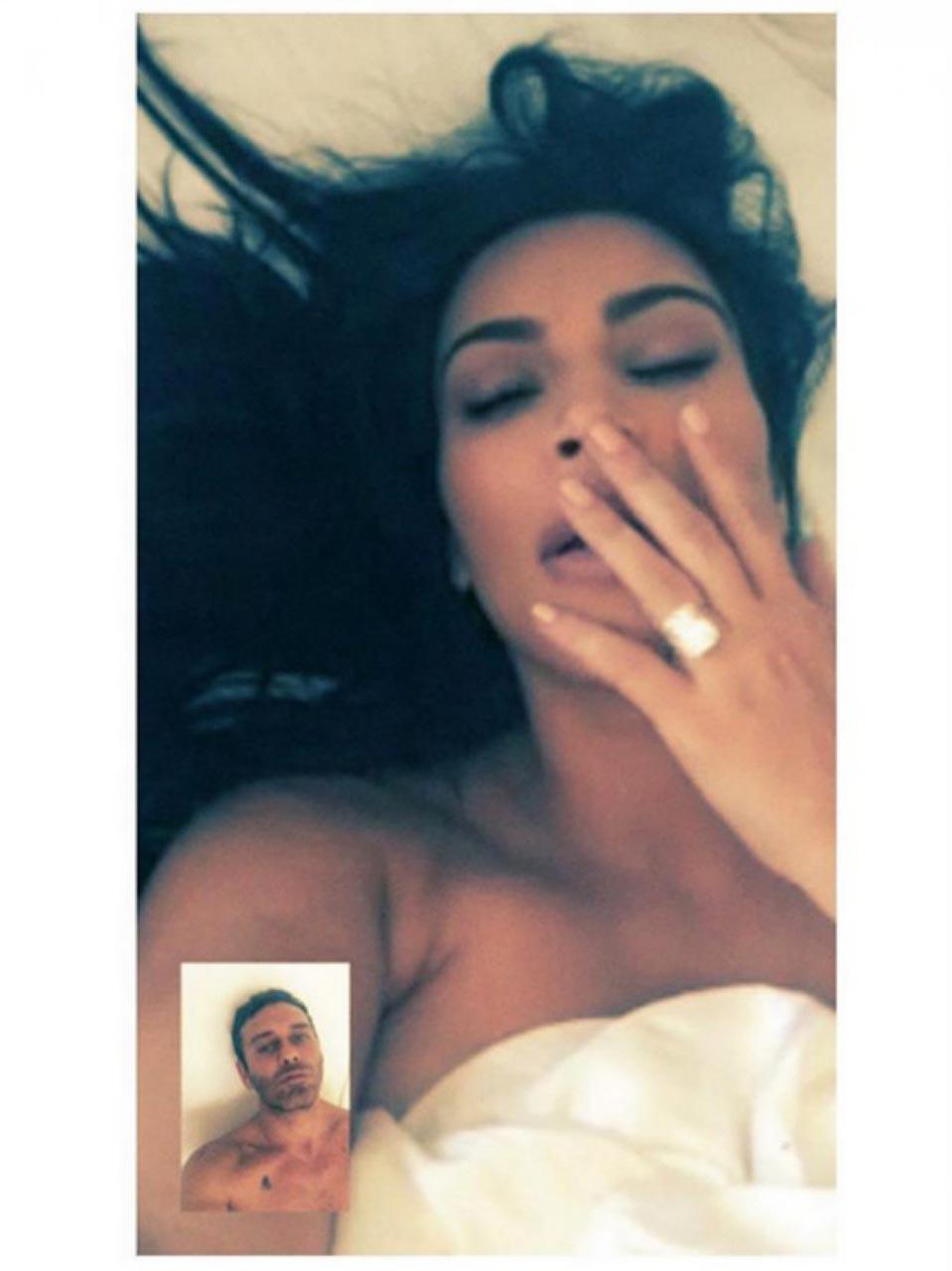 kim kardashian leaked facetime