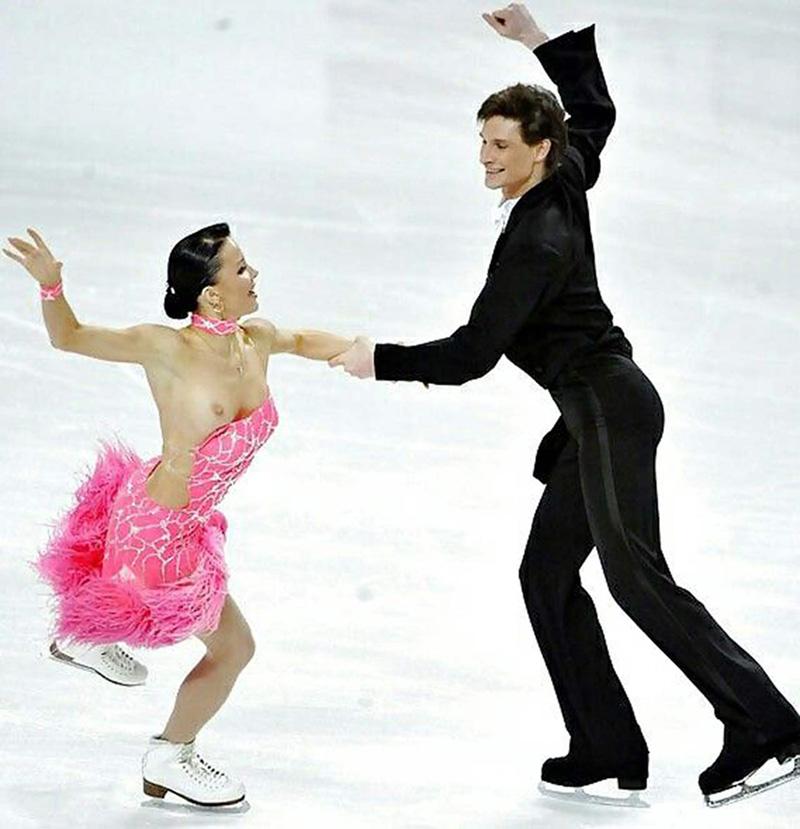 эротические фото танцующих на льду чем-то говорили