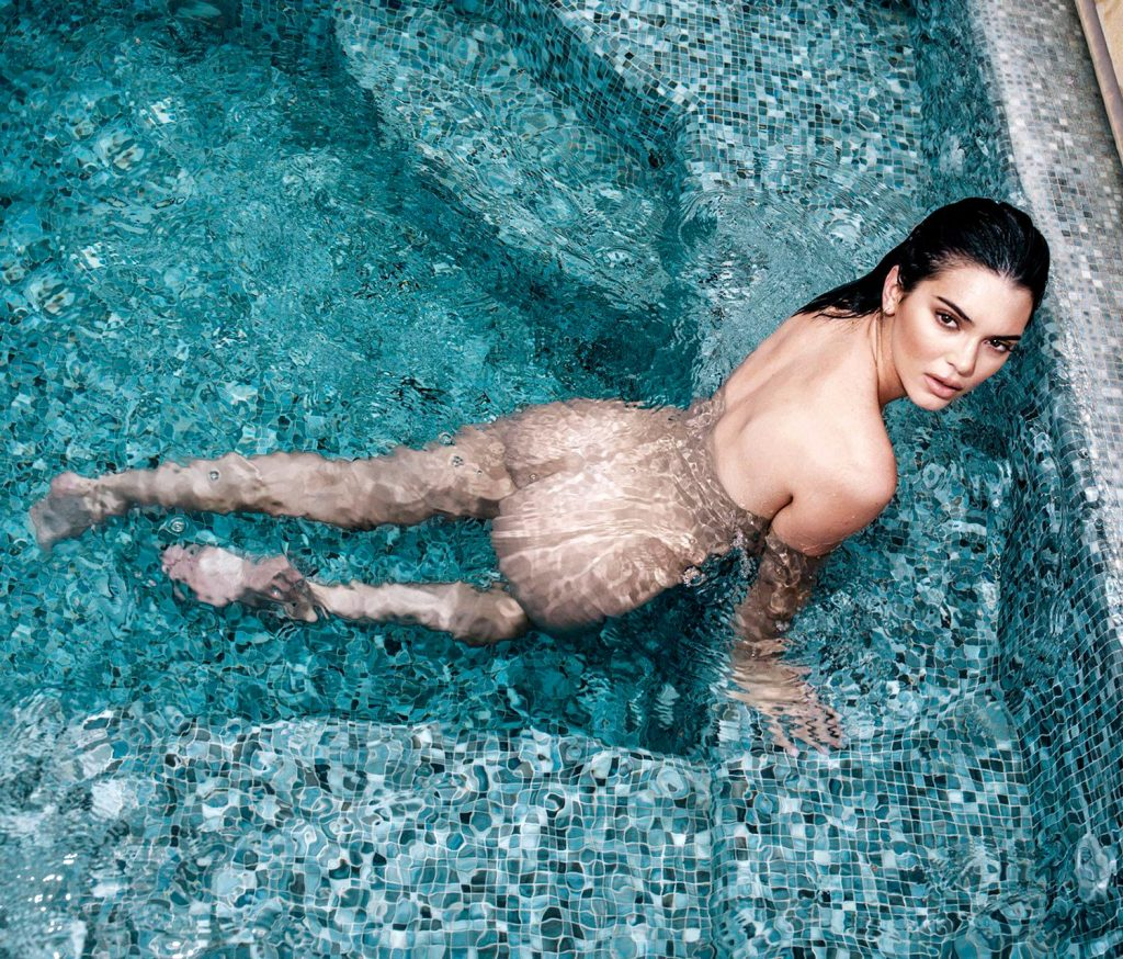 Kendall Jenner Leaked Beach Nudes For 'Angels' Campaign ...