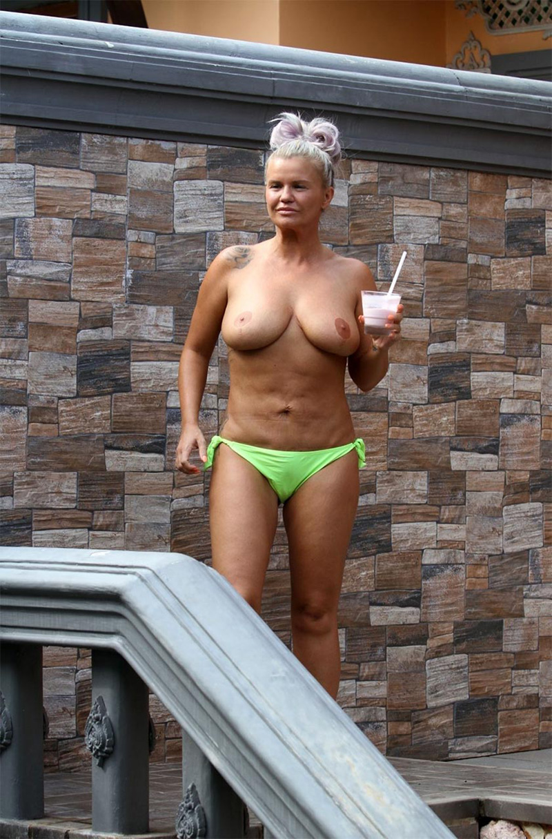 Kerry katona tits out