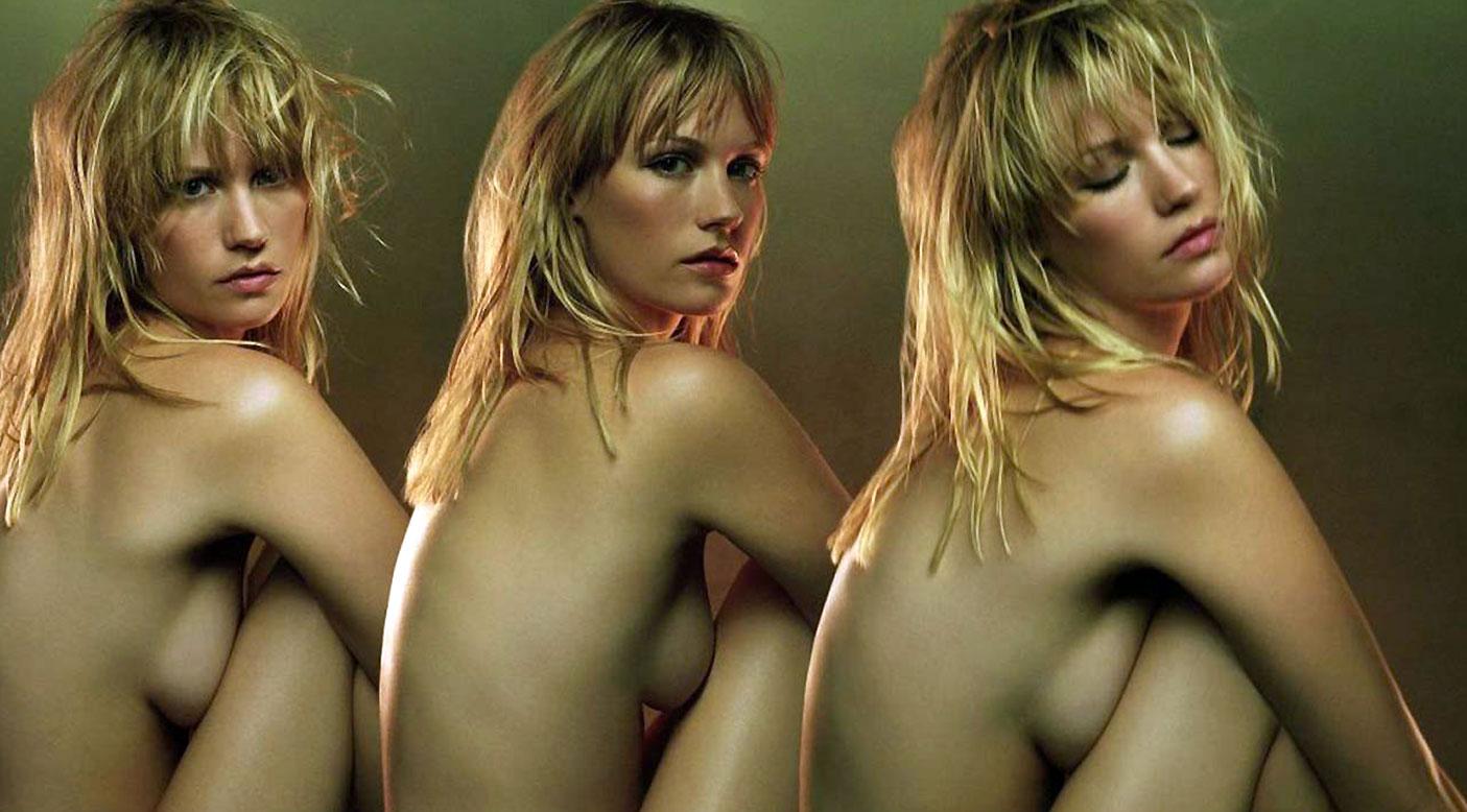 January jones nude, topless pictures, playboy photos, sex scene uncensored