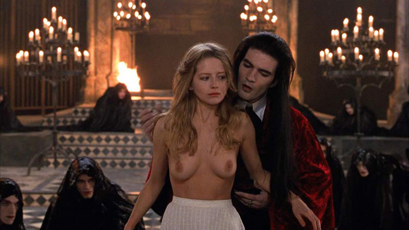Interview with a vampire nude scenes