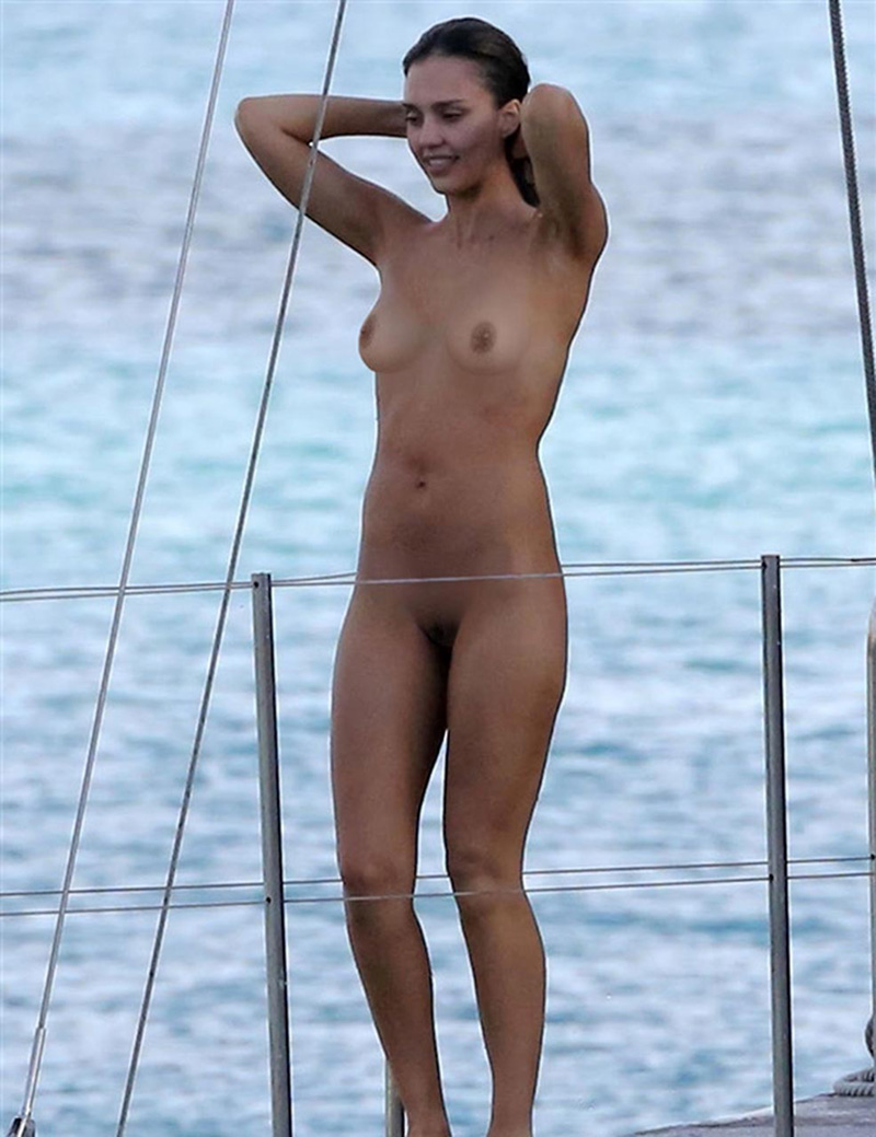 Caught naked by paparazzi