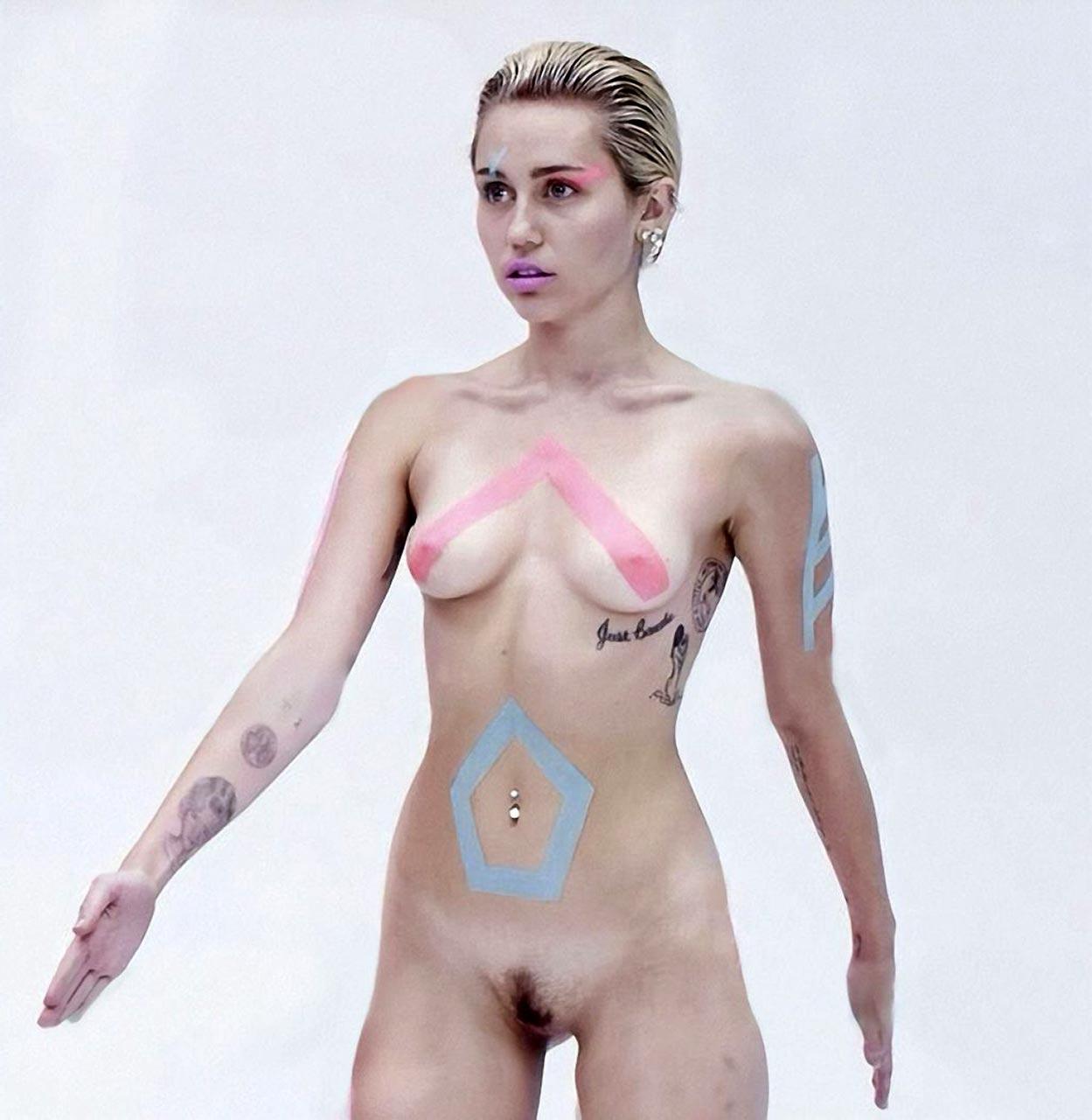 Miley cyrus nude terry-4567