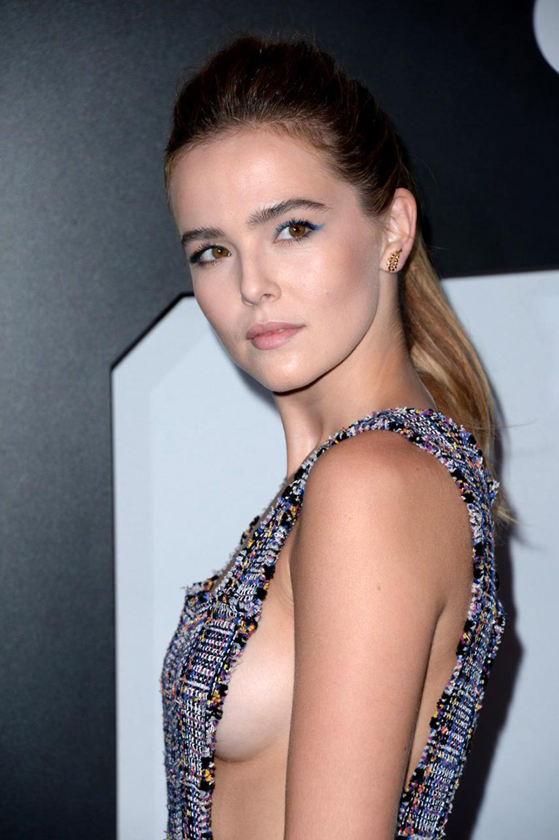 Zoey Deutch Naked - Her Whole Boobs Flashed  - Scandalpost-1568