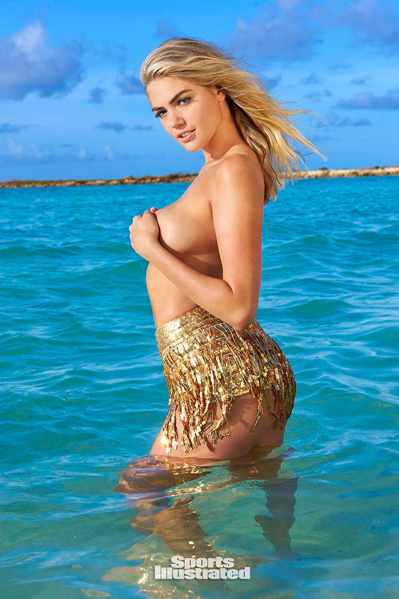 Kate Upton Covered Topless For Sports Illustrated -9976