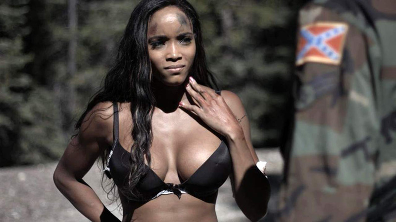Alanna Forte cleavage