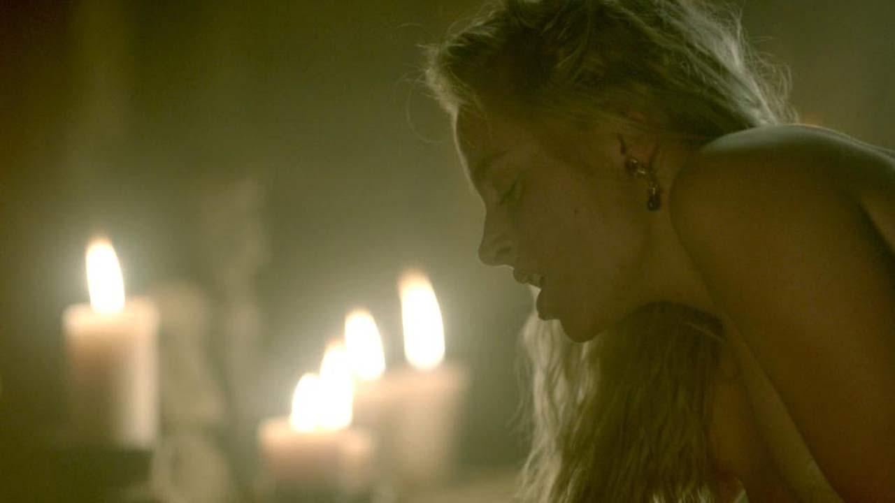 Ida Maria Nude ida nielsen sex scene from 'vikings' - scandalpost