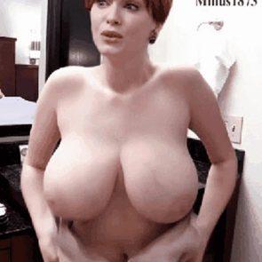 Christina Hendricks tits