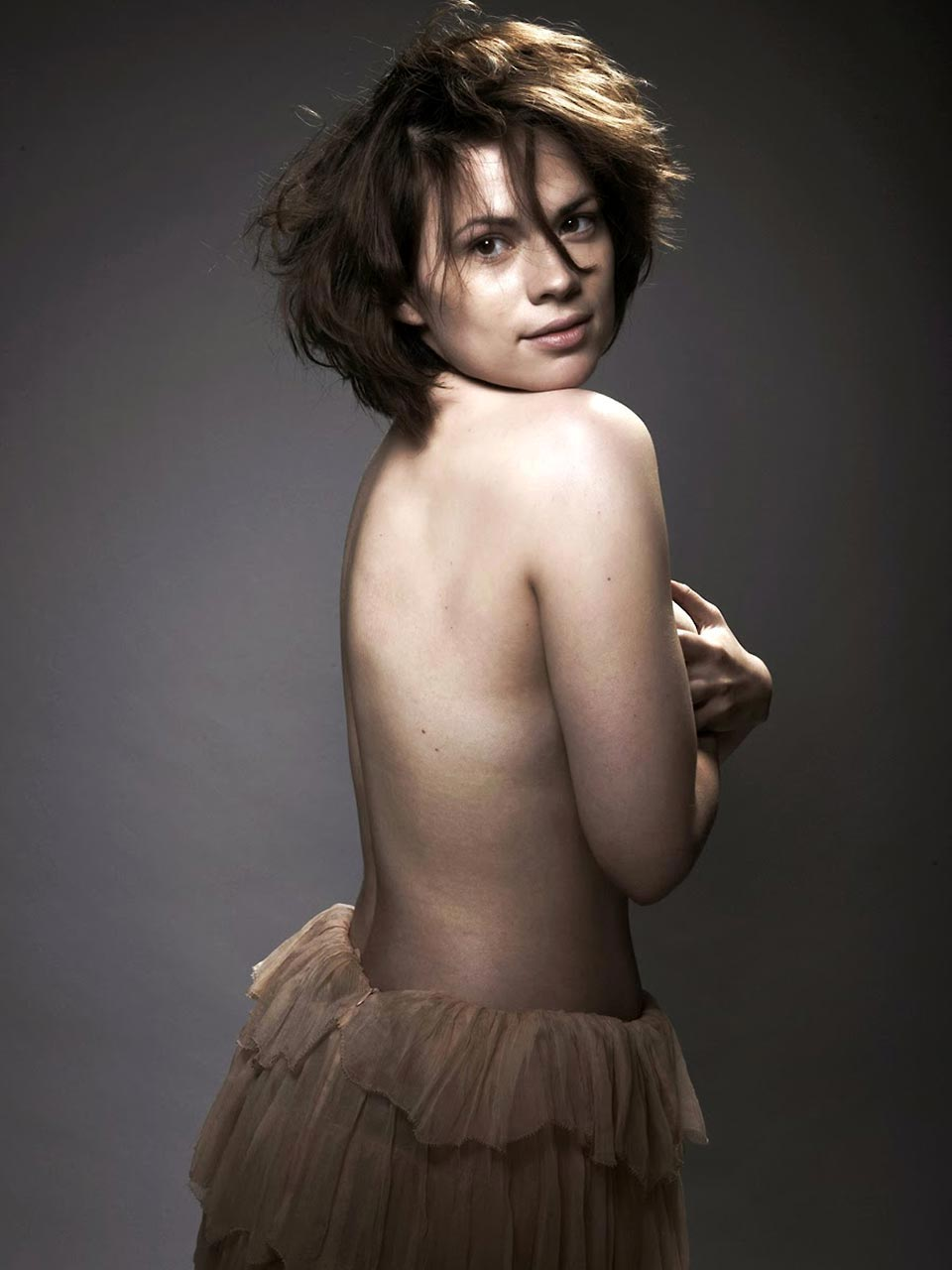Hayley atwell nude scenes