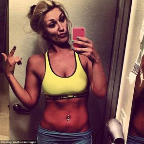 Brooke Hogan sexy selfie