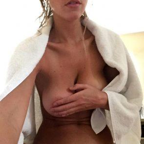 Elizabeth Turner topless covered