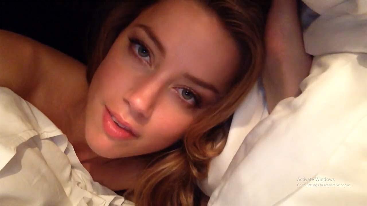 Amber Heard Nude Video amber heard porn - selfie video leaked - scandalpost