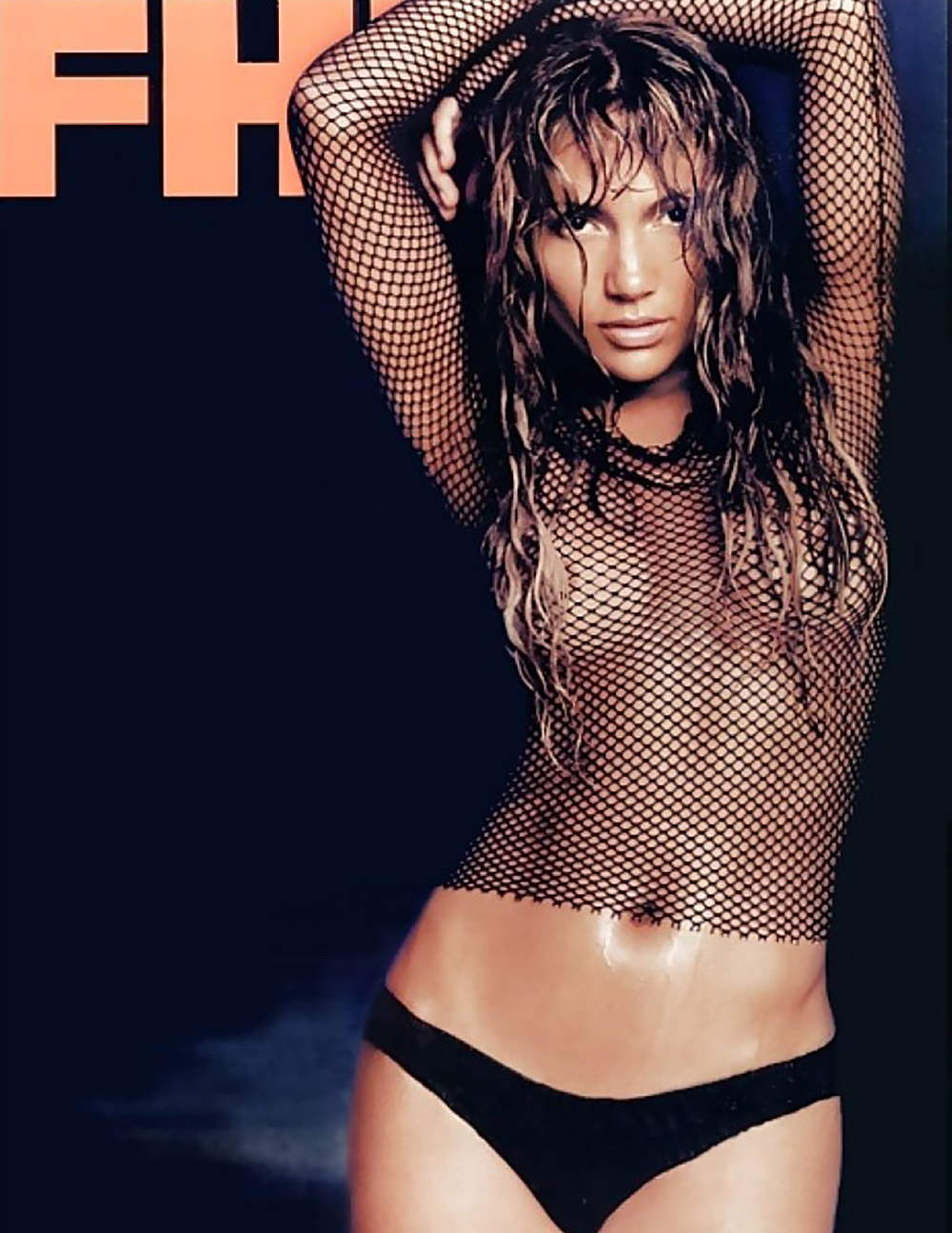 Jennifer lopez poses completely nude on her new album cover
