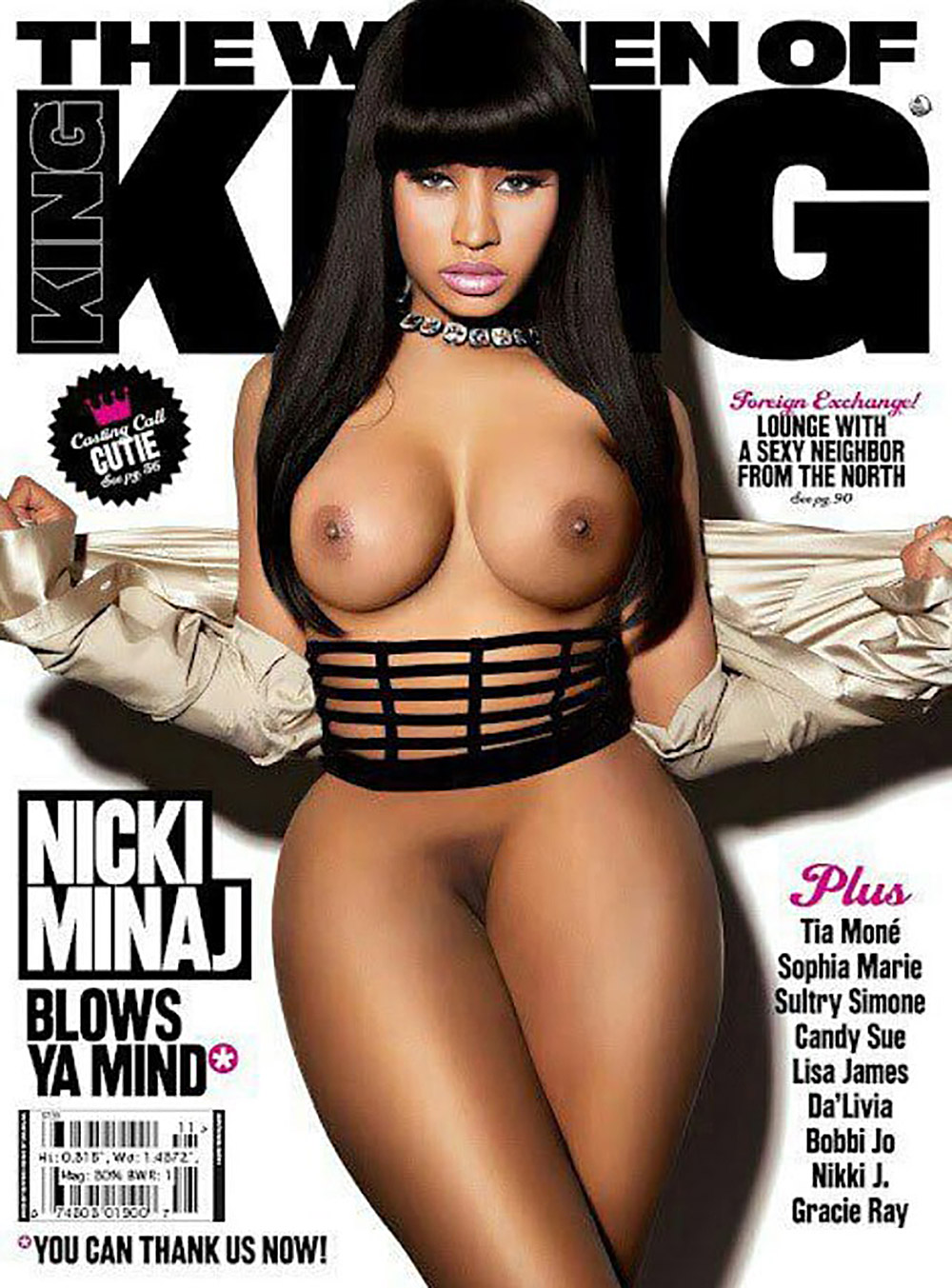 nicki minaj naked video movies