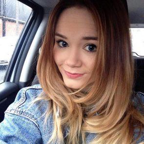 Daisy Wood-Davis hot car selfie