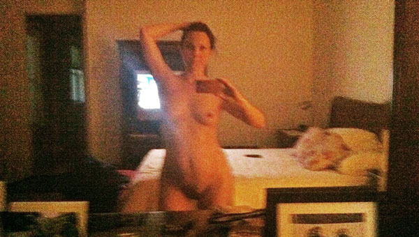 Kelli Williams naked leaked mirror selfie