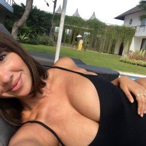 Jackie Cruz cleavage