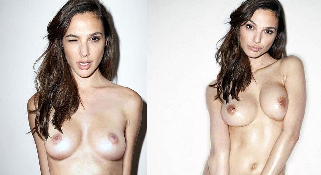 Porn gal gadot half nude