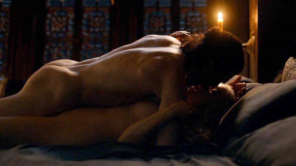 Emilia Clarke sex with john