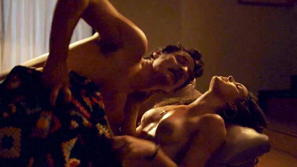Adria Arjona nude sex scene