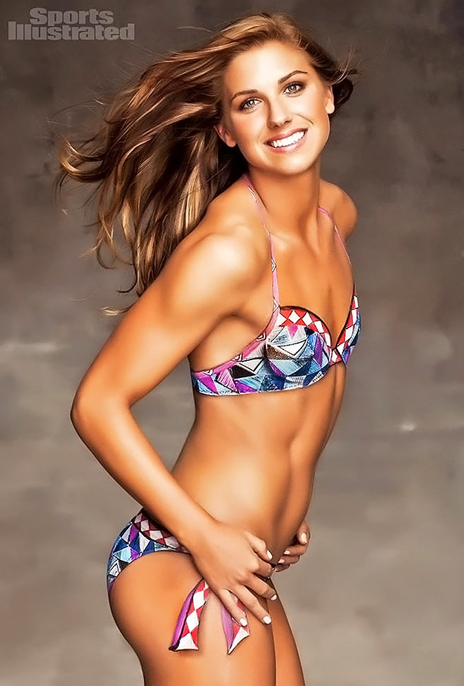 Alex Morgan naked breasts