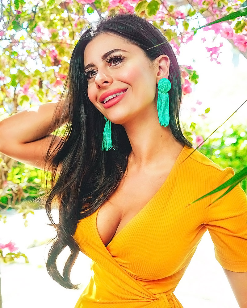 Azzyland yellow blouse and boobs