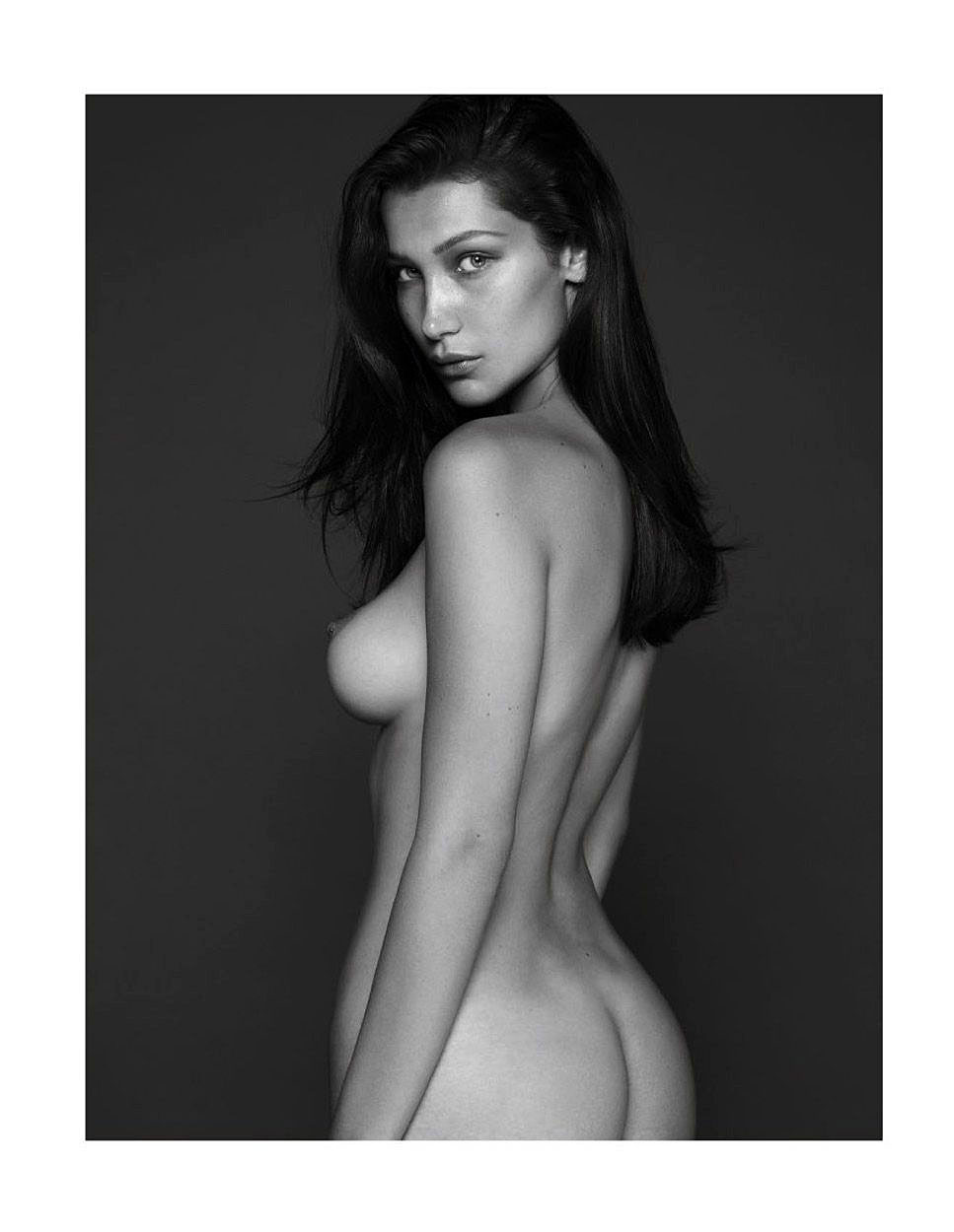 bella hadid fully naked