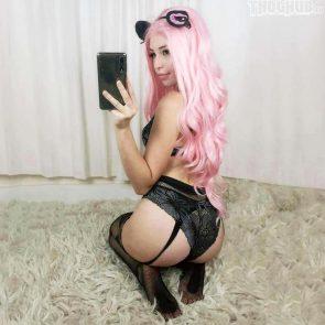 Belle Delphine sexy ass