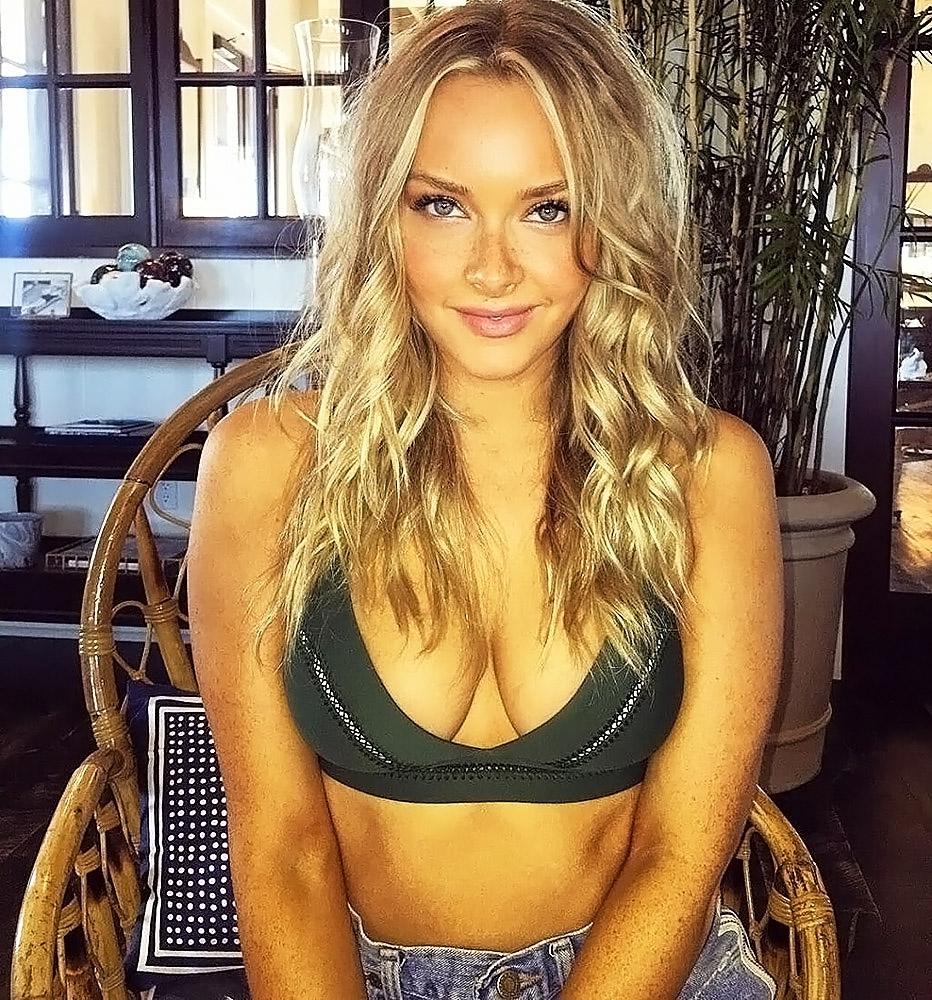 Camille Kostek breasts