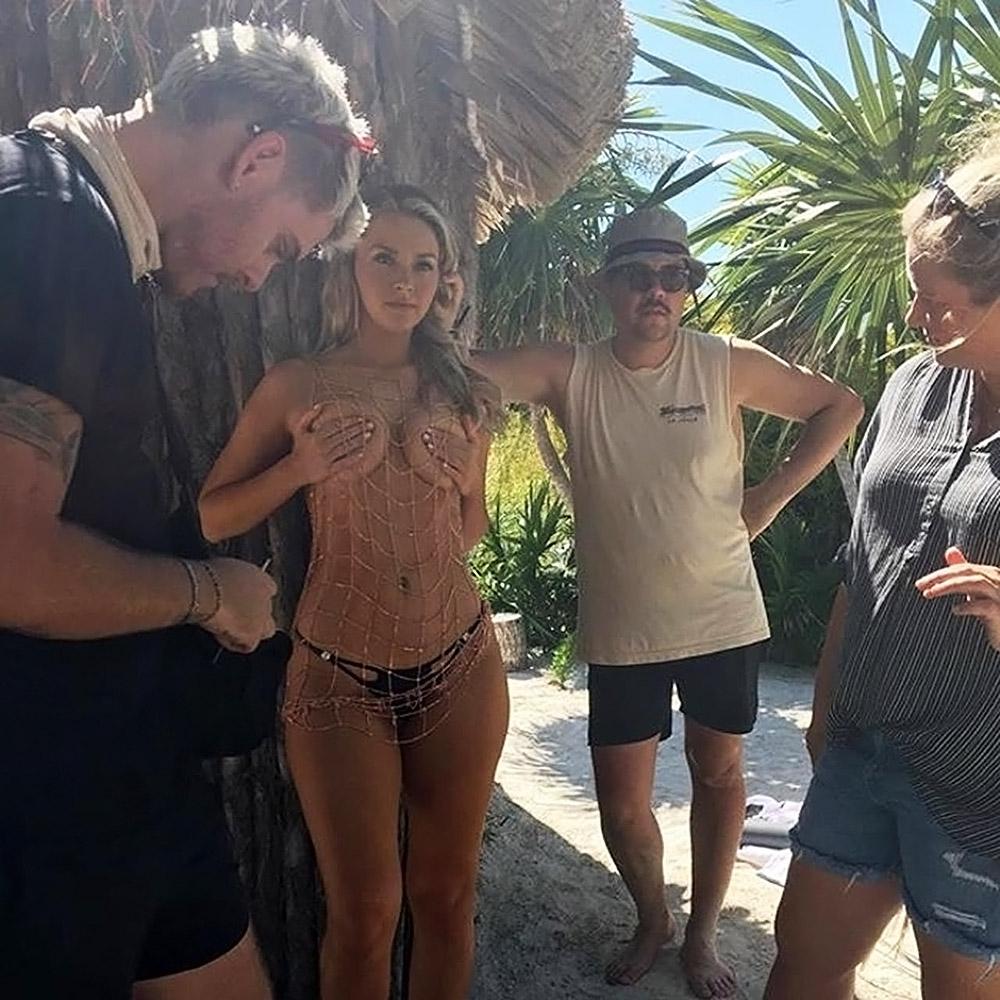 Camille Kostek naked boobs