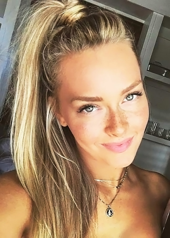 Camille Kostek hot selfie