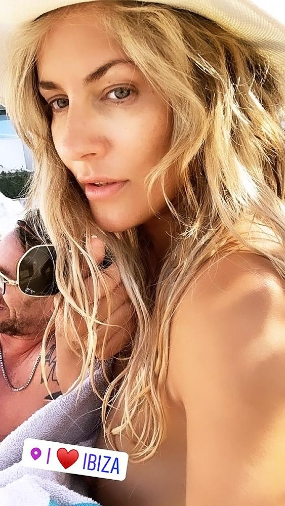 Caroline Flack nipple slip