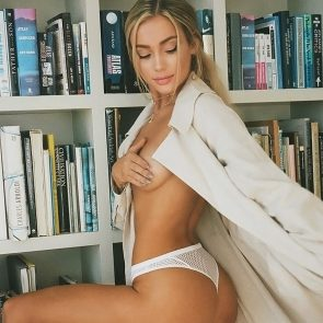 Charly Jordan topless and sexy