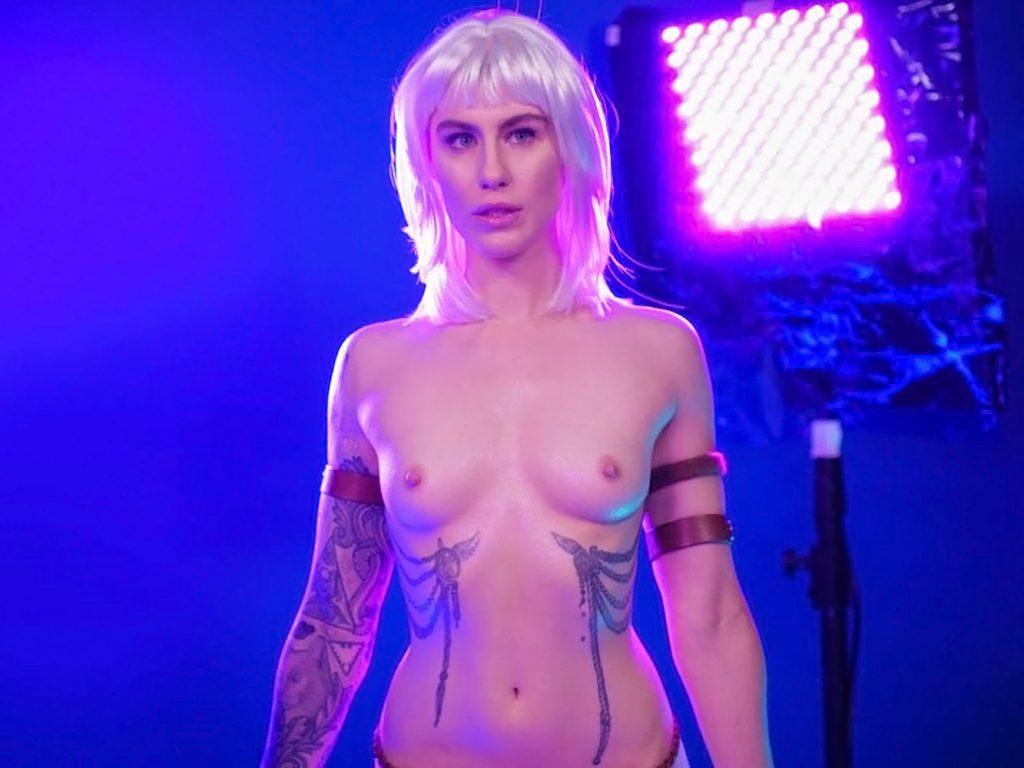 Comic Book Girl 19 nude breasts